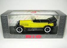 Isotta Fraschini 8A Spider (Abierto, Amarillo) 1924