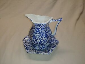 Vintage Enesco pitcher and bowl.