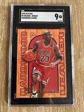 1995-96 Michael Jordan Flair Hardwood Leader- SGC-9- Bulls Compare To PSA