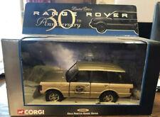 Corgi Range Rover 30th Anniversary Gold Ltd Edition Boxed 1.43 Brand New