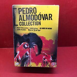 PEDRO ALMODOVAR COLLECTION 5x DVD SET LIVE FLESH TALK TO HER BAD EDUCATION++ ETC