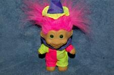 Ace Novelty Troll Clown 5' Pink Hair Green Eyes