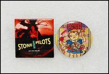 Stone Temple Pilots Stp Lot Of 2 90's Original Buttons Pins Badges Core