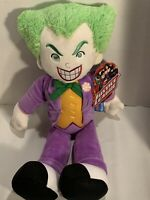 """DC Comics Justice League JOKER 21"""" Soft Plush Toy New With Tag"""