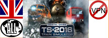 Train Simulator 2016 (Sherman Hill / Riviera Line / West Rhine Route) Steam key