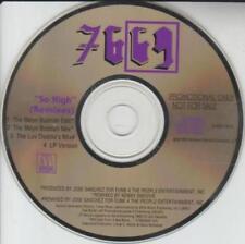 7669: So High Remixes PROMO MUSIC AUDIO CD Bklyn Buddah Edit Luv Daddie's Smoove