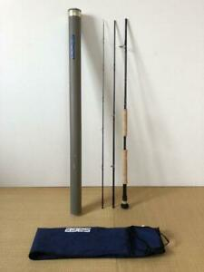 """SAGE GRAPHITE Ⅲ RPLXi 1390-3 9'0"""" #13 3Piece Fly Rod Fishing with Case F/S"""