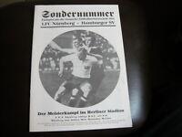 Deutsche Meisterschaft 1924 1.FC Nürnberg - Hamburger SV Programmheft
