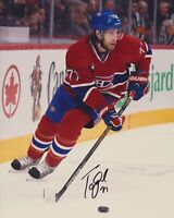 TOM GILBERT SIGNED MONTREAL CANADIENS 8X10 PHOTO 2