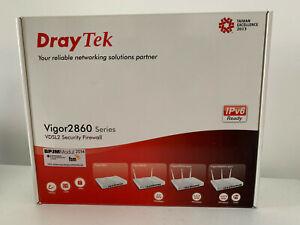 DRAYTEK Vigor 2860 VDSL2 ADSL2+ Modem 6x Gigabit Router Switch (Variante ohne W