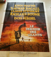 Plakat Cinema Film Le Letzte Des The Giants John Wayne Don Siegel 1976