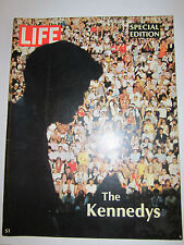 (7) LIFE MAGAZINES - 1960'S & 1971 - KENNEDY, ON THE MOON & MORE - NICE - BB-3