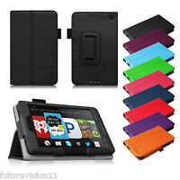 """Fintie Folio Leather Case Cover Stand For Amazon Kindle Fire HD 6 HDX 7 8.9 """""""