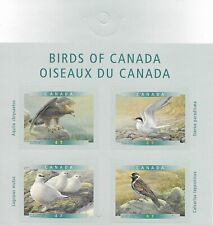 CANADA 2001 Birds Self Adhesive set of 4  MINT NH
