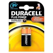 Duracell Batteries 1 x PP3 Plus Power Battery Alkaline 6LF22 9V MN1604