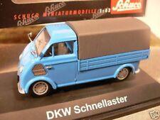 1/43 Schuco DKW schnellaster pr/lona azul 02401