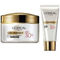 L'Oreal Paris Skin Perfect 30+ Anti-Fine Lines Cream, 18/50g Whitening SPF 21+++