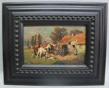 Fine 19th C. Original Russian Oil Painting  WILHELM VELTEN  c. 1880   antique