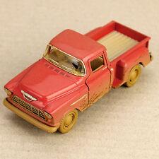 Mud Splattered Red 1955 Chevrolet Stepside Pick-Up 1:32 Scale Diecast Model Car
