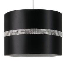 MiniSun 25cm / 35cm Easy Fit Diamante Ceiling Pendant Light Shade Lampshade Home