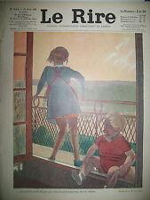 LE RIRE N° 603 CARICATURE SATIRIQUE DESSINS LE PETIT FOURNIER GENTY LISSAC 1930