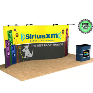 20ft S shape trade show display booth Exhibition system