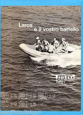 QUATTROR967-PUBBLICITA'/ADVERTISING-1967- PIRELLI - LAROS