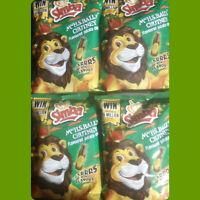Mrs H.S. BALLS CHUTNEY  Flavoured Potato Chips x 4 Packets 36g (Merry Xmas)