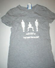 Womens Phat Camp T Shirt 2007 S Small Gray Pop Squat New Run Walk Top