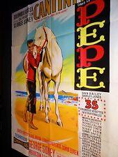 CANTINFLAS dean martin sinatra    affiche cinema 1960 mascii