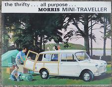 BMC Morris Mini Traveller fold out brochure 1965