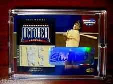 Stan Musial 2004 Donruss October Legends 6/25  Autographed Jersey Card 1/1