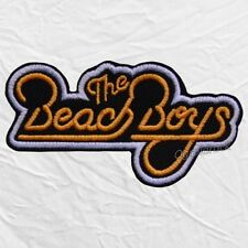 The Beach Boys Logo Embroidered Patch Rock Band Pop Surf Brian Wilson Mike Love
