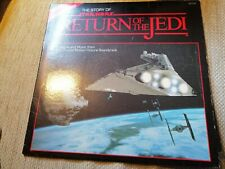 """The Story Of Star Wars - Return Of The Jedi - Soundtrack - 12"""" Vinyl Plus Extra!"""