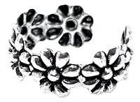Ear Cuff Daisy Flower Summer Earring 925 Sterling Silver Ear Cuff Bohemian