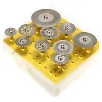 10 Stueck Diamanttrennscheiben Trennscheibe Set fuer R3F6 m6y