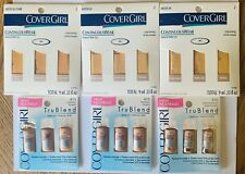 Lot of 6 CoverGirl TruBlend Continouswear Light Medium Foundation 18 Samples