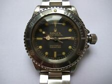 Rolex Submariner 5513 meter first patina 5512 vintage paper gilt tropical ghost