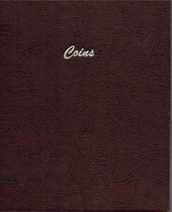 5 Vinyl Page Dansco Coins Album Holds 60 Coins