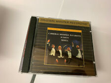 CARRERAS DOMINGO PAVAROTTI IN CONCERT MEHTA ORIGINAL MASTER RECORDING CD MINT/EX