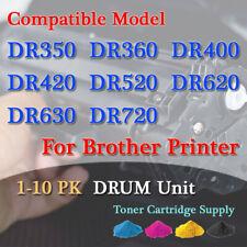 1-20PK DR350 DR400 DR420 DR520 DR620 DR630 DR720 DRUM & OPC Kit For Brother lot