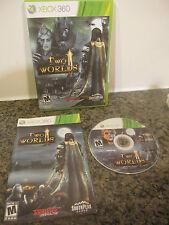 Two Worlds II (Microsoft Xbox 360, 2011) COMPLETE