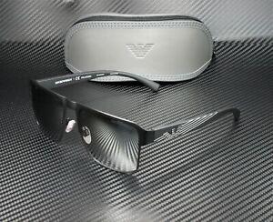 EMPORIO ARMANI EA2066 3001Z3 Black Polarized Grey Silver 57 mm Men's Sunglasses