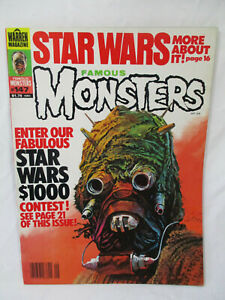 Vintage FAMOUS MONSTERS Magazine # 147 Sep 1978 Star Wars