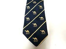 WCRFC Rugby Club Tie Blue Polyester Vintage T66