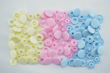 30 Sewing-free - Push buttons Prym - Love Colour Snaps Pink Blue-Bead - 393 007