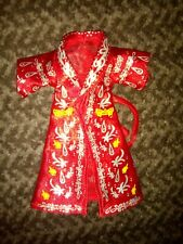 Ric Flair red Robe Accessory - WWF WWE Classics Superstars action figure jacket