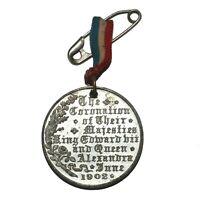 Coronation - King Edward VII & Queen Alexandra - Commemorative Medal 1902