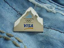 Pin Olympische Spiele Torino 2006 Winterolympiade Olympic Olympiade Sponsor Visa