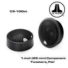 "NEW JL Audio C3-100ct C3 Series 1"" Silk Soft-Dome Component Car Audio Tweeters"
